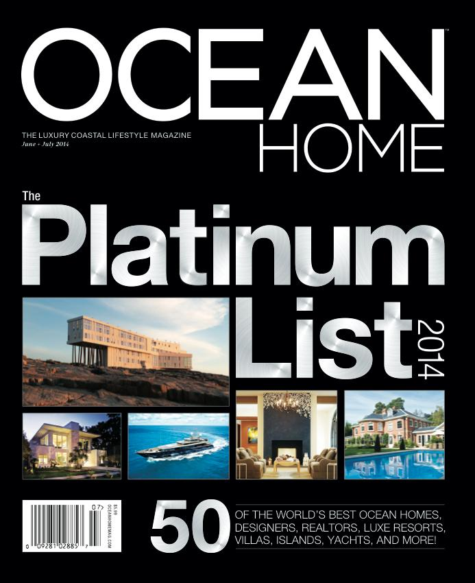 Calvin Beal Custom Boats in Ocean Home Magazine