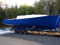 New hull from reconditioned 40 YB mold