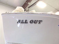 38 Calvin Beal Lobster Vessel F/V All Out