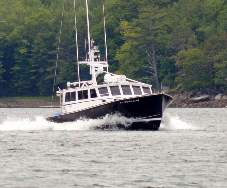 Just Launched Pleasure Boats from SW Boatworks, custom boat builders in downeast Maine